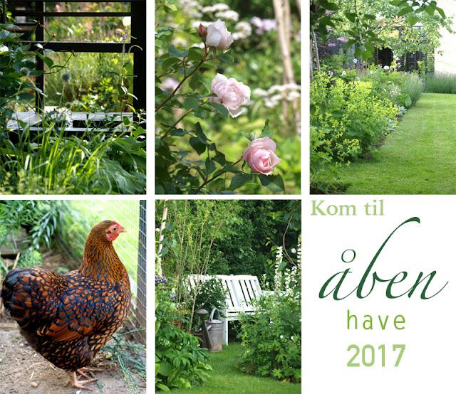 Åben have 2017 - besøg min have til sommer - haven åbnes for offentligheden - havefestival 2017