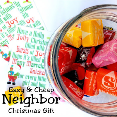 There are so many people to be grateful for it's hard to by something for everyone on the Christmas list. Now you can give in abundance with these perfect, easy Christmas gifts for your neighbor, teacher, friend, bus driver, and all the rest who need a special Christmas gift this year. #neighborgift #christmasgift #dollartree #diypartymomblog