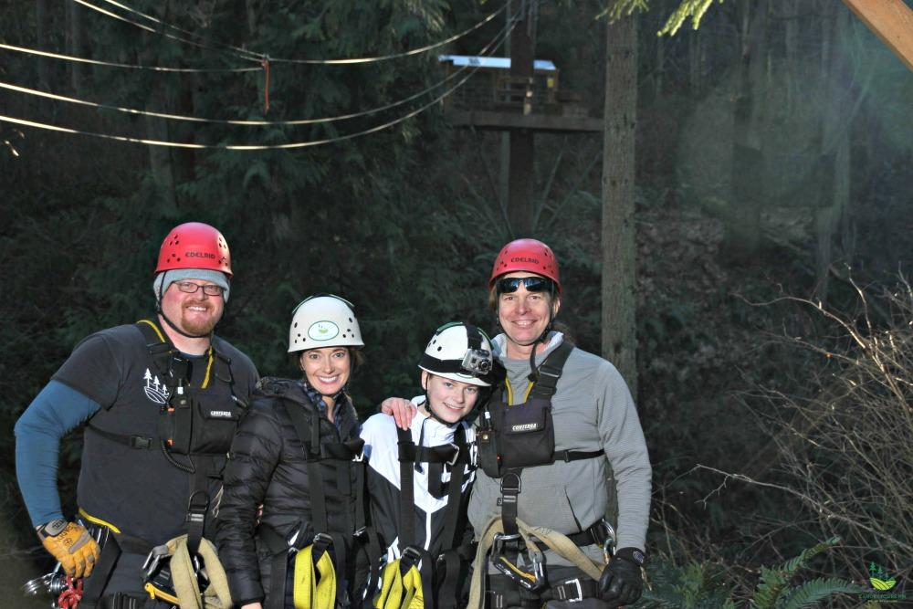Canopy tours northwest zipline experience