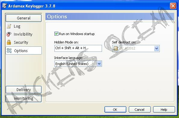 Hackers Ocean: Keylogger: Step by Step Configuration