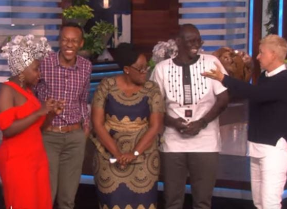 Ellen DeGeneres surprises Kenyan woman by reuniting her with her family and it's tearjerking