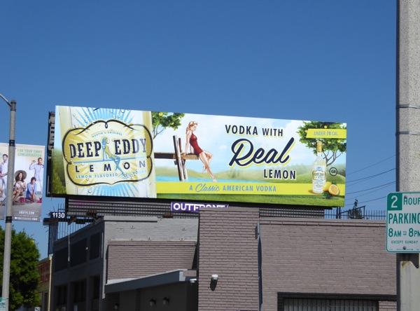 Deep Eddy Lemon Vodka billboard