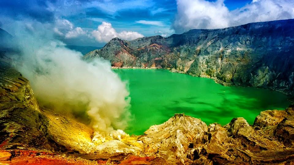 Kawah Ijen Wisata Jawa Timur yang Terkenal