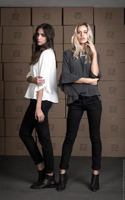 Pantalones de jeans invierno 2016 ropa de moda Wupper.
