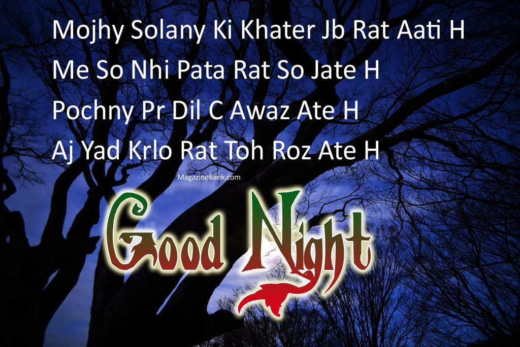 New year good night sms