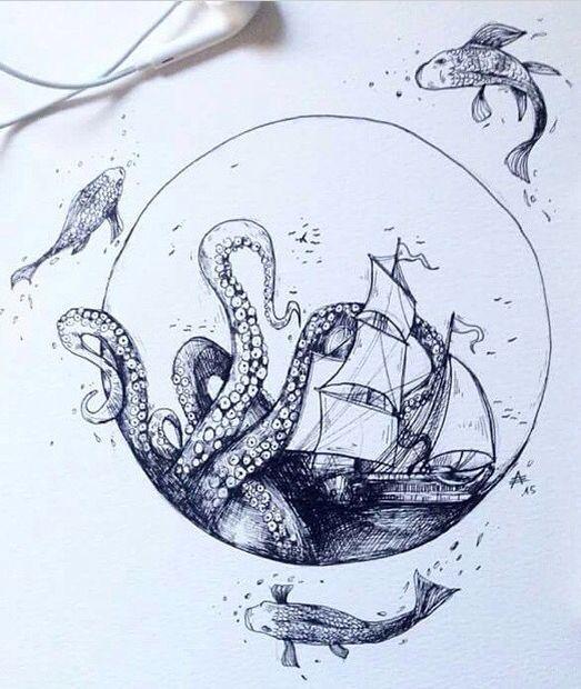 Octopus Tattoo Ideas