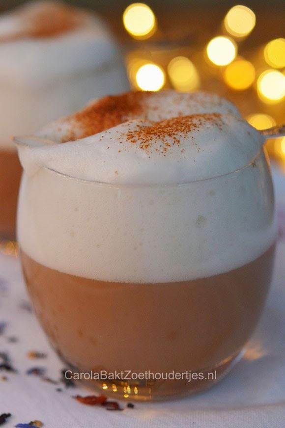 Kruidige Kerstthee Latte