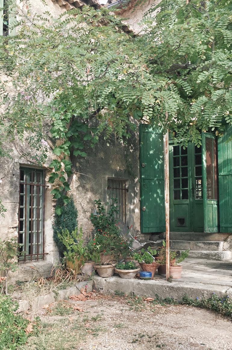 Mas de Gourgonnier dans les Baux-de-Provence