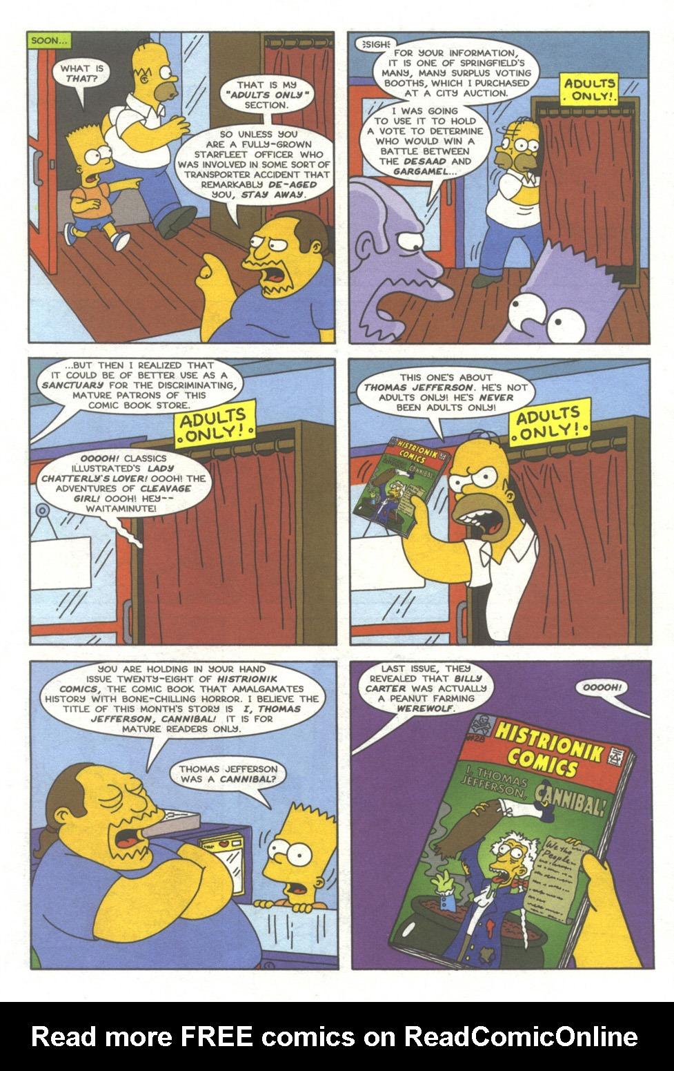 Read online Simpsons Comics comic -  Issue #39 - 6
