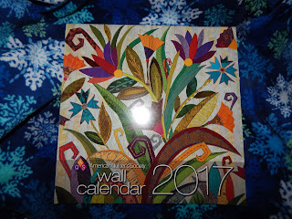 Review - AQS Wall Calendar 2017