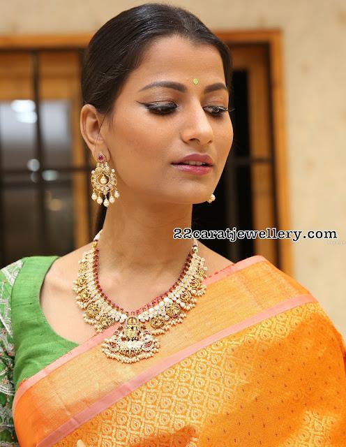 Amitha Behra Peacock Necklace