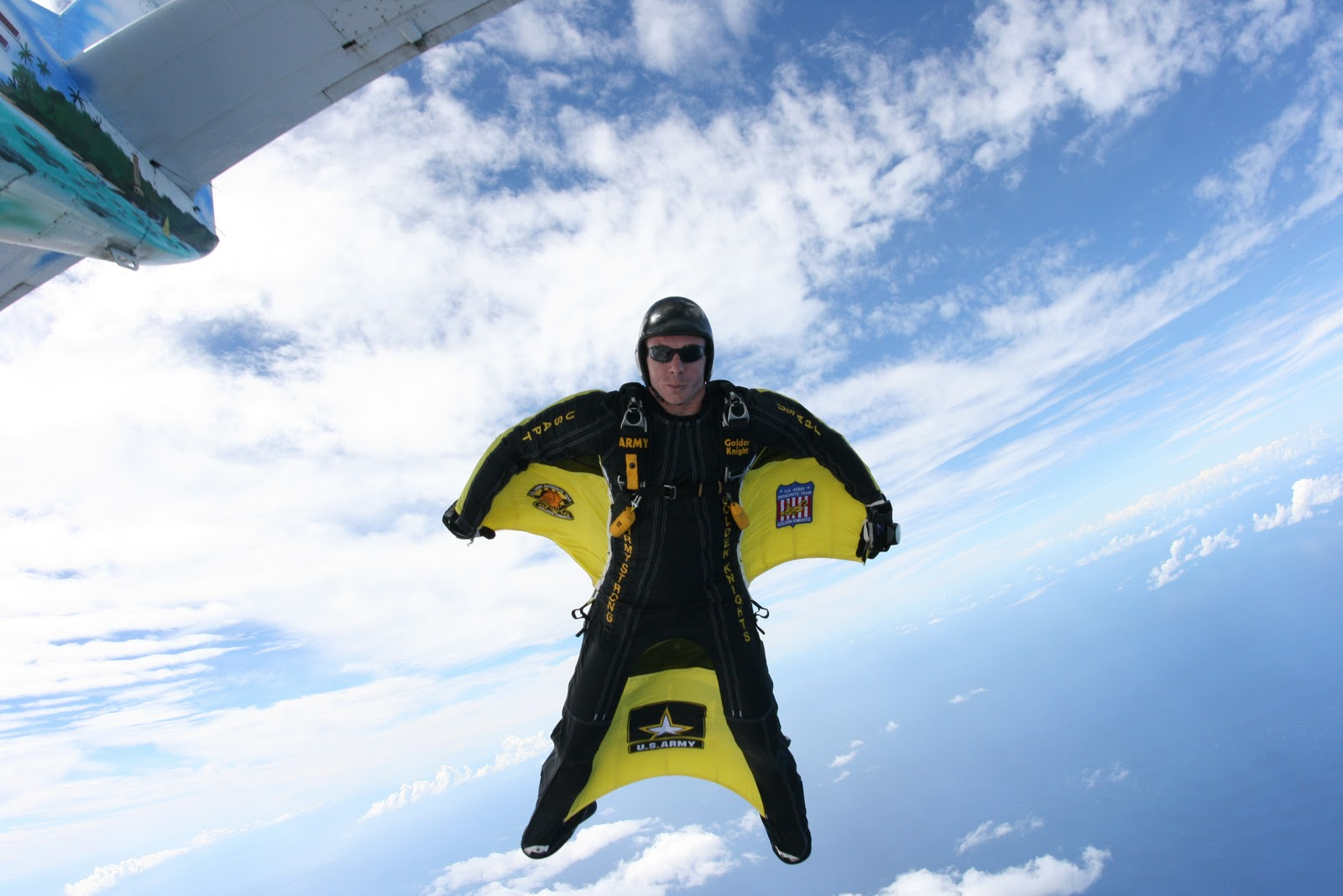 the man cave: The Wingsuit