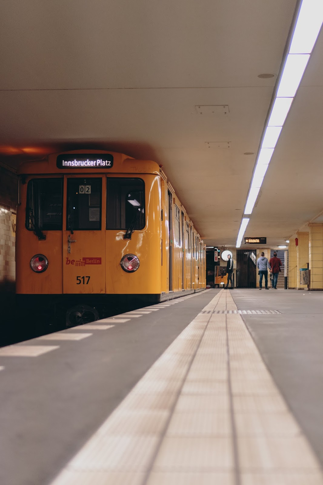 subway in berlin