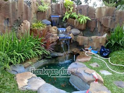 Tukang Taman Surabaya Jasa Relief Tebing