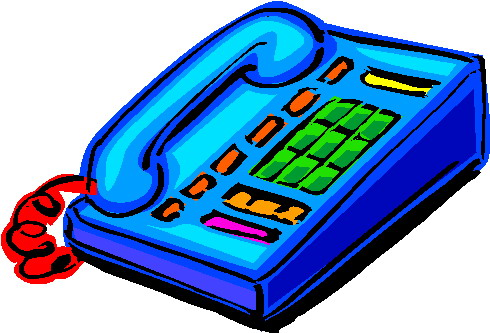 All Cliparts: Telephone Clipart (Communication)