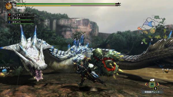 Monster Hunter 3 Ultimate + Update Wii U ROM Screenshots #2