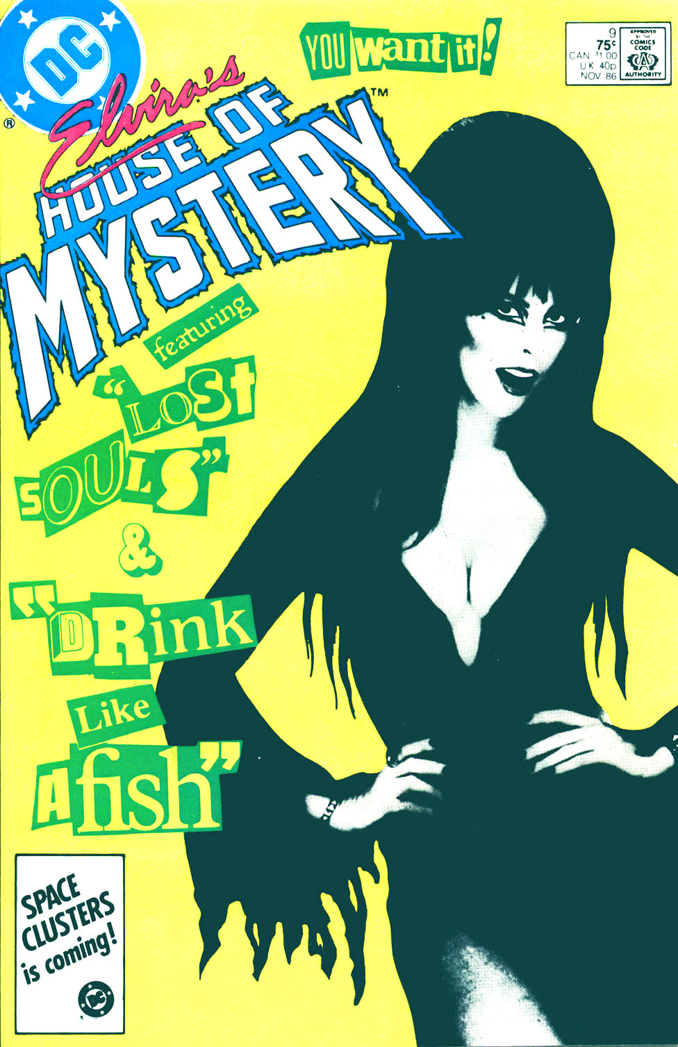 Elvira's House of Mystery Issue #9 #10 - English 1