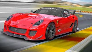 ferrari 599xx merah raja jalanan tracker