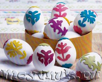 Пасхальные яйца, фото
