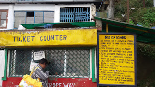The Ticket Counter of Darjeeling Ropeway