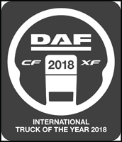 DAF XF and CF International Truck of the Year