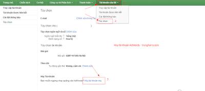 Hướng dẫn cách lấy tiền trong adwords bằng một cú click chuột