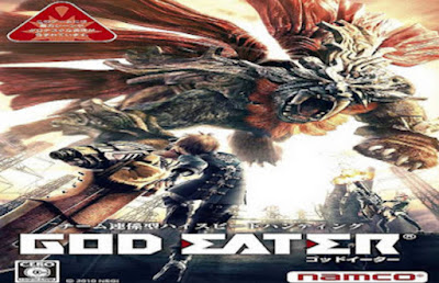 download Game PSP God Eater Burst ISO High Compress