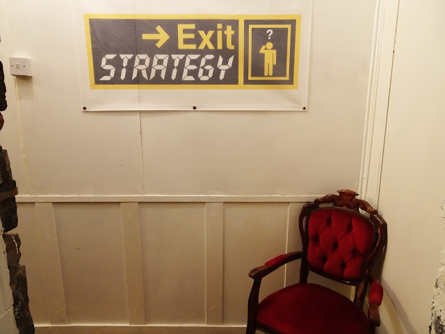 Exit Strategy Entrance