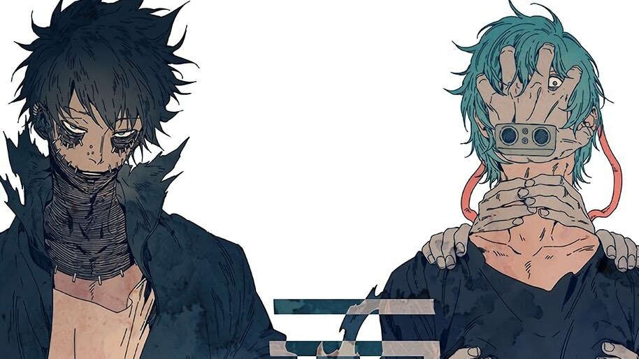 "Villains Shigaraki DABI Hero Academia Anime 36/"" x 24/"" Large Wall Poster Print"
