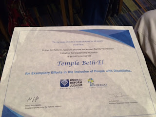 Temple Beth-El Exemplar Congregation; Removing the Stumbling Block