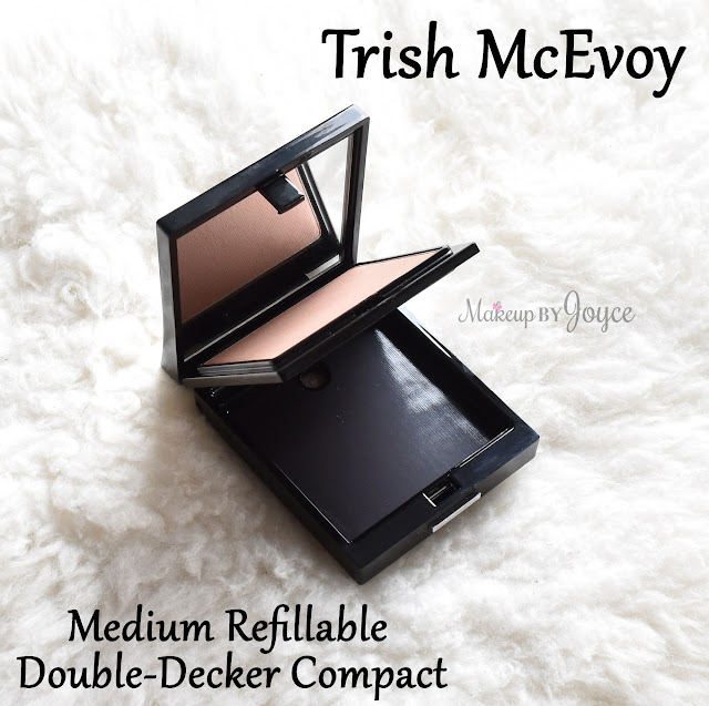 Trish McEvoy Medium Refillable Double-Decker Compact Review