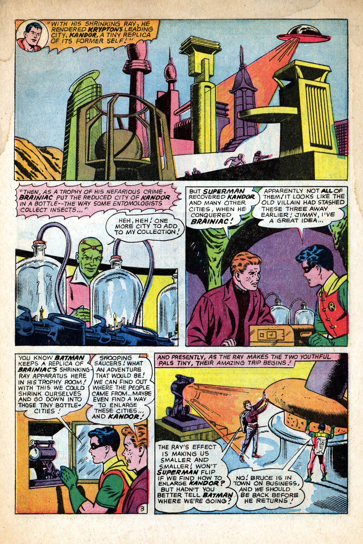 Read online World's Finest Comics comic -  Issue #158 - 5