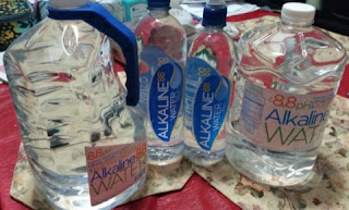 alkaline88 water samples