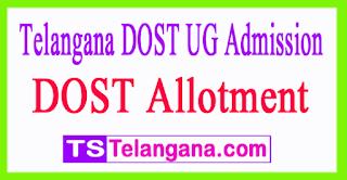 Telangana DOST UG Admission 3rd Allotment 2017