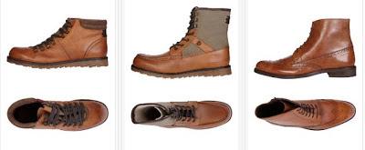 Zapatos de piel marrones para hombres