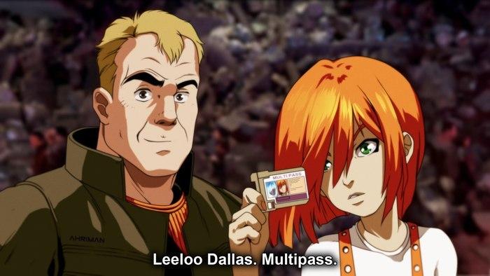 The Fifth Element im Anime Style von Ahriman | Es schreit förmlich nach einer cineastischen Umsetzung