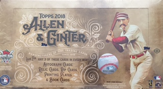 Sport Card Collectors Review2018 Topps Allen And Ginter