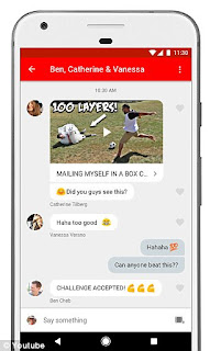Youtube Adds Chat Feature To Allow Sharinh In The App