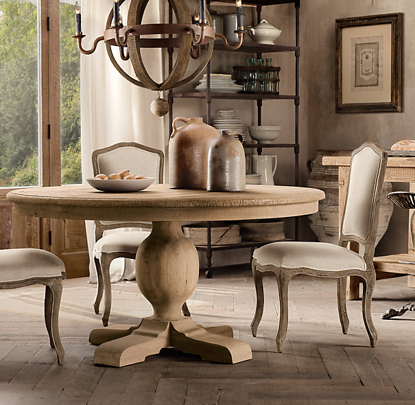 Restoration Hardware Kitchen Tables: A View From The Coop: Table Love