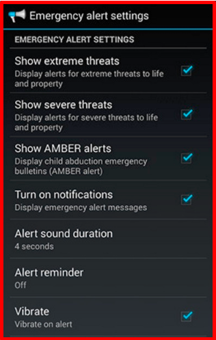 How to Turn Off Emergency Alerts Android