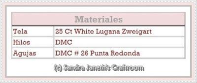 Esquema Gratis, SJSC - Florece, Punto de Cruz