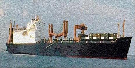 Jenis-Jenis Kapal Kontainer (Container Ship) - Peti Kemas