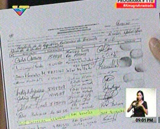 ''El Picure'' firmó para revocar a Maduro, según Diosdado Cabello