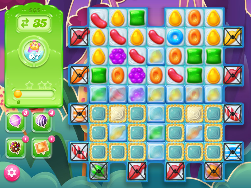 Candy Crush Jelly Saga level 565