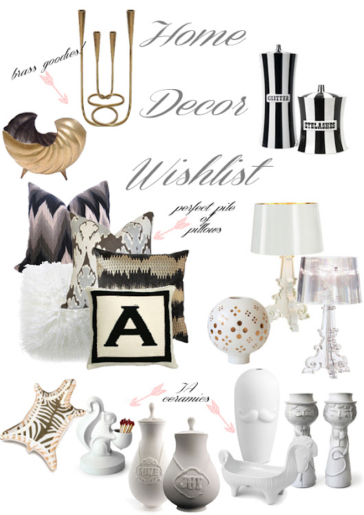 Home Decor Wish List