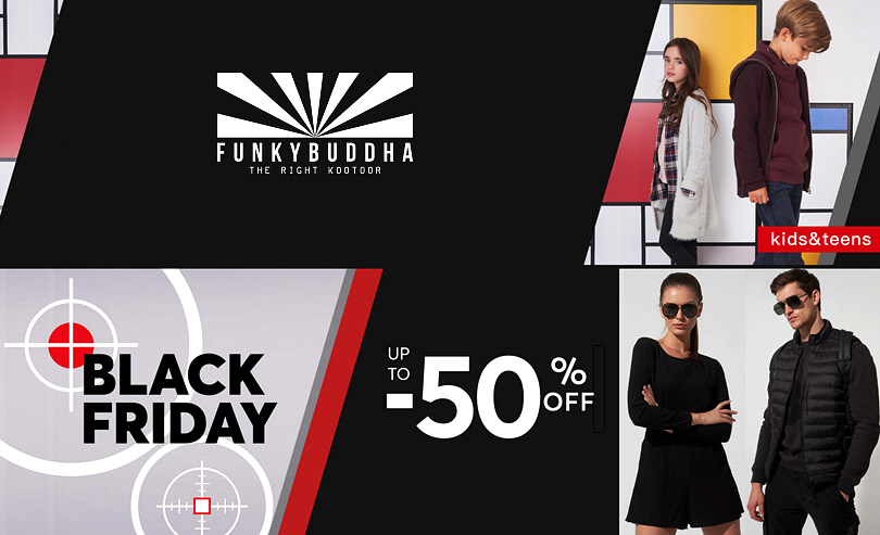 Funky Buddha - Black Friday Προσφορές
