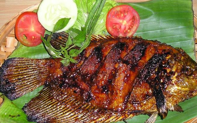 Resep Ikan gurame Bakar Bumbu Kecap Sederhana