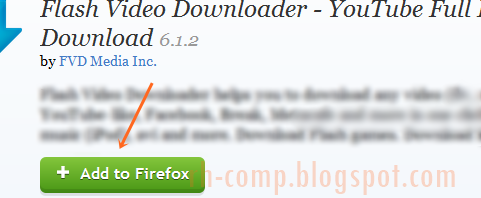 Cara Mendownload Video Dari YouTube Dengan Mozilla Firefox