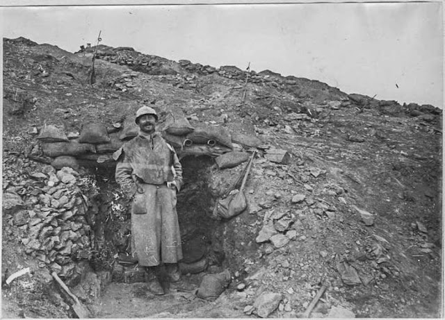 The attack on the Hill 1248 near Bitola (Monastir) (16-26 March 1917). First front lines near Bitola