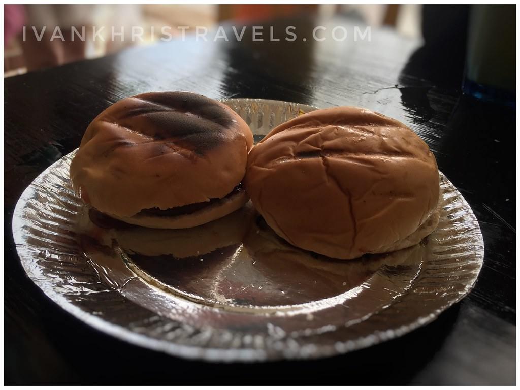 Chori Burgers at Jonah's restaurant in Boracay